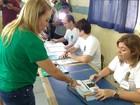 Candidata à reeleição, Teresa, do PMDB, vota em Boa Vista