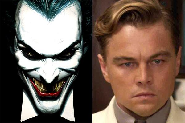 Coringa e Leonardo DiCaprio... será que rola? (Foto: Divulgação/ reprodução)