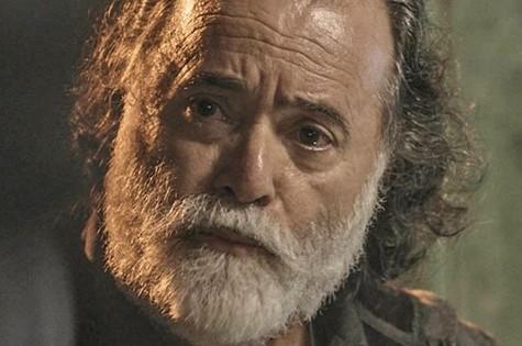 Tony Ramos, o Zé Maria de 'A regra do jogo' (Foto: TV Globo)