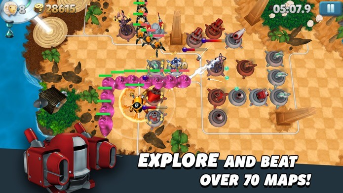 Tower Madness retorna com promoção, o jogo está gratuito por tempo limitado (Foto: Divulgação)