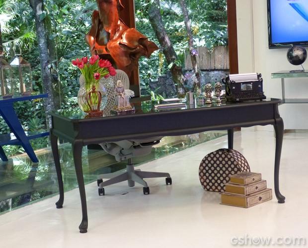 A mesa da Ana também está de cara nova! (Foto: Mais Você / TV Globo)