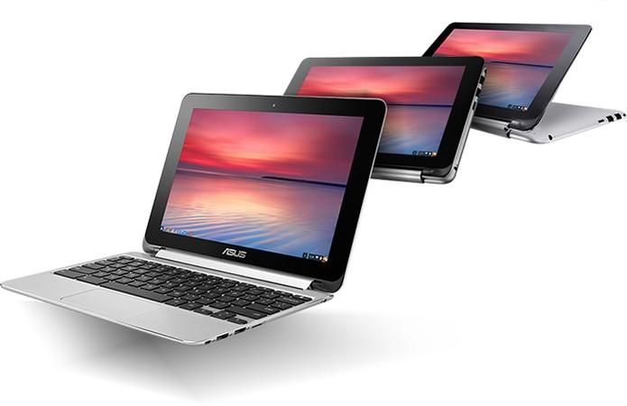Asus Chromebook Flip C100 tem recurso híbrido com tablet (Foto: Divulgação/Asus)