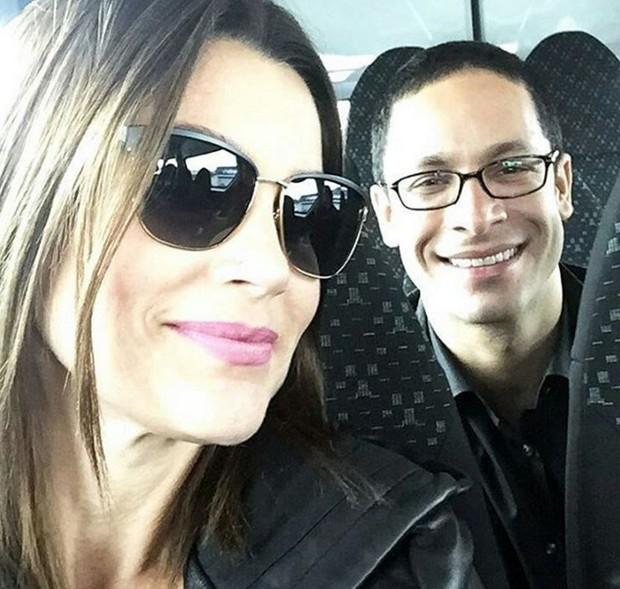 Flávia Alessandra e Rainer Cadete estão no elenco do filme A Lei é Para Todos (Foto: Reprodução/Instagram)