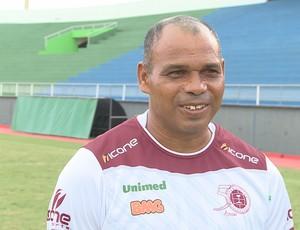 Já no Acre, Desportiva-ES realiza bate bola no Florestão Mauro Soares (Foto: Divulgação/TV Acre)