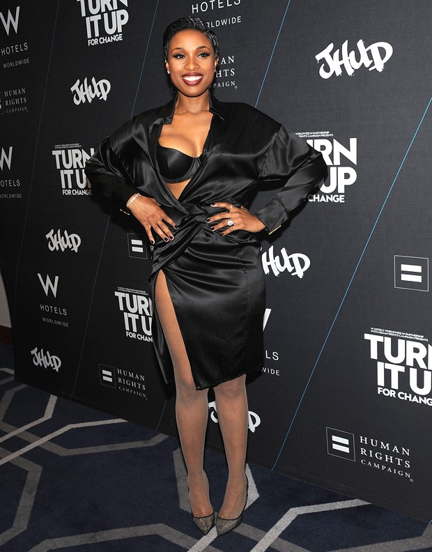 Jennifer Hudson sexy em evento em Nova York. (Foto: Getty Images)