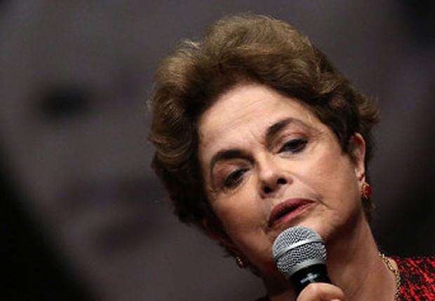 A ex-presidente Dilma Rousseff  (Foto: Ueslei Marcelino/Reuters)