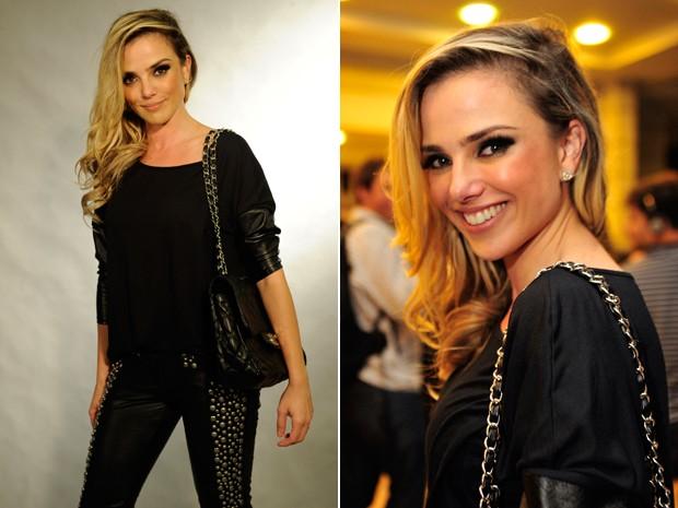 Natallia na fase de Amor à Vida (Foto: Estevam Avellar / Alex Carvalho / TV Globo)