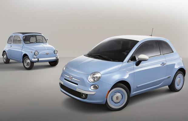 Fiat mostra versão 'retrô' do Cinquecento (Foto: Divulgação)