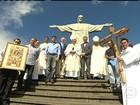 Missa no Cristo Redentor marca contagem regressiva para Olimpíadas