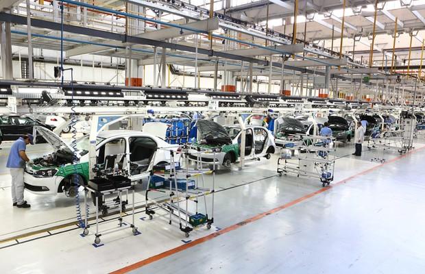 fábrica da VW (Foto: Divulgação)