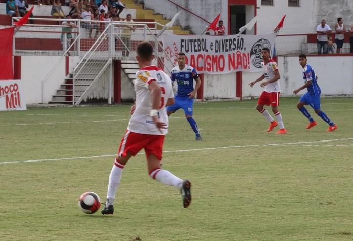 Danilo Tombense x URT (Foto: Bruno Ribeiro)