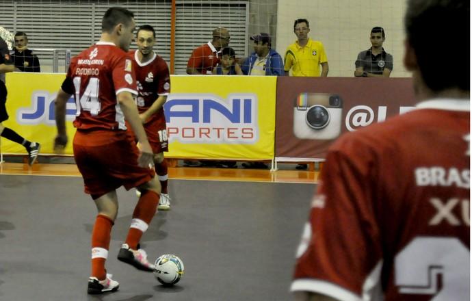 Sorocaba Futsal na Liga Paulista, Rodrigo (nº 14) (Foto: Danilo Camargo / Futsal Brasil Kirin)