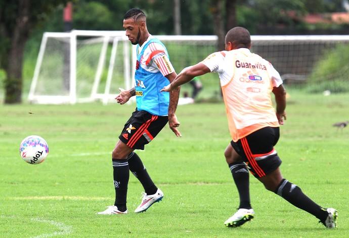 Paulinho Treino Flamengo (Foto: Gilvan de Souza / Flamengo)