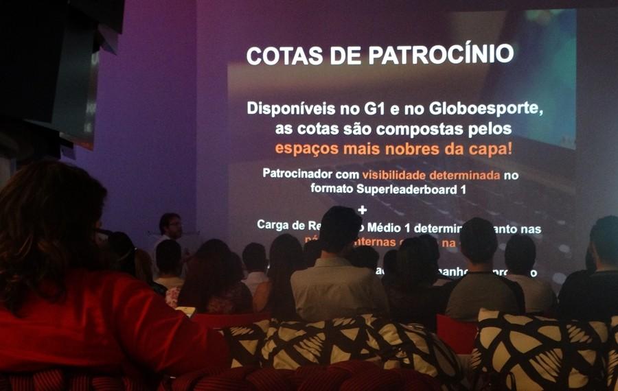 Globo.com realiza media training com publicitários de Caruaru (Foto: Renata/ TV Asa Branca)