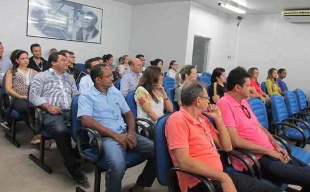 Clube realiza Semana Interna de Prevenção de Acidentes do Trabalho (Foto: Laurivânia Fernandes/ Rede Clube)