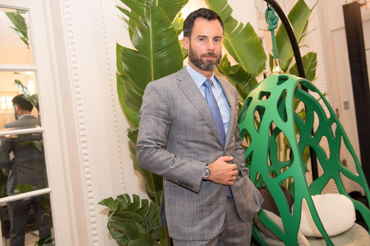 Benoit Vuitton, tataraneto e herdeiro de Louis Vuitton (Foto: Divulgação)
