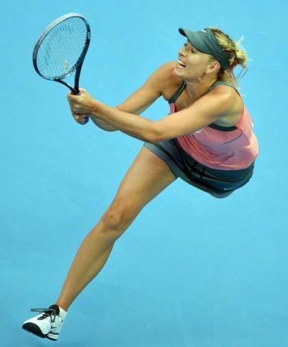 Maria Sharapova WTA de Pequim (Foto: AFP)