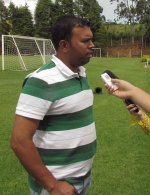 Alex Ferreira Joaquim, gerente de futebol da Caldense (Foto: Rose de Oliveira/Divulgação Caldense)