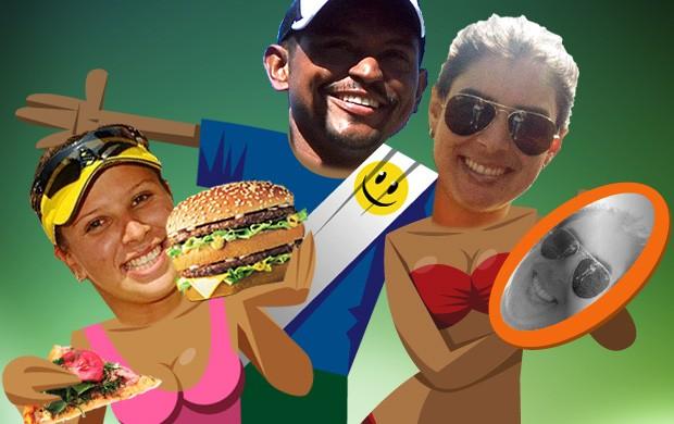 ILUSTRAÇÃO eleições vôlei de praia - 2 (Foto: arte esporte)