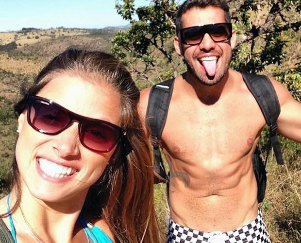 Angela Sousa e Yuri (Foto: Arquivo Pessoal)