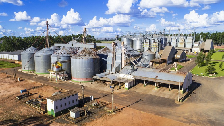 copasul-silos-cooperativa (Foto: Divulgação)