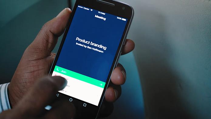 Serviço permite participar de reunião pelo celular (Foto: Reprodução/Amazon)