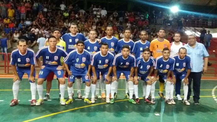 Madureira, campeão acreano de futsal da 1ª divisão 2015 (Foto: Divulgação/Fafs)