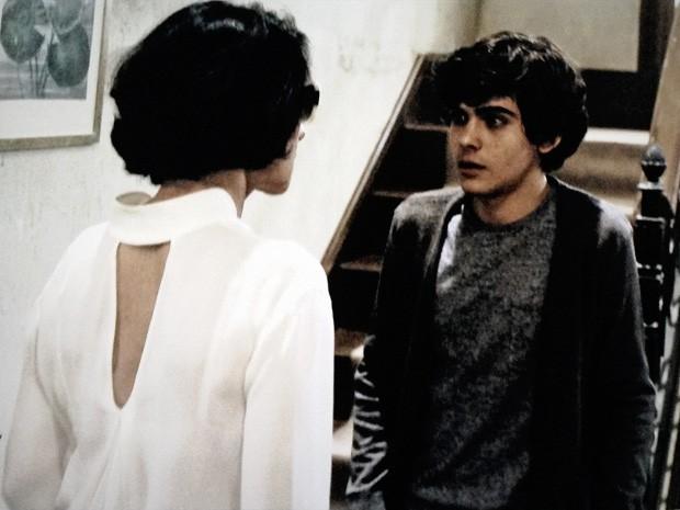 Michel e Gilda (Foto: O Rebu / TV Globo)