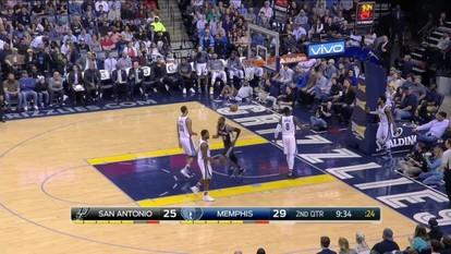 Melhores momentos: San Antonio Spurs 96 x 104 Memphis Grizzlies pela NBA