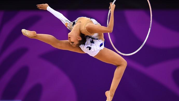 Margarita Mamun é uma das musas do Mundial de GR (Foto: Getty Images)