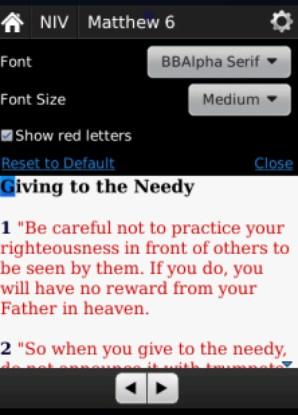 Bible para BlackBerry