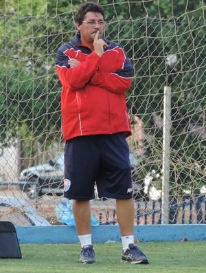 Lelo, técnico do Grêmio Prudente (Foto: Ronaldo Nascimento / GloboEsporte.com)