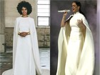 Katy Perry usa look similar a vestido de casamento de Solange Knowles