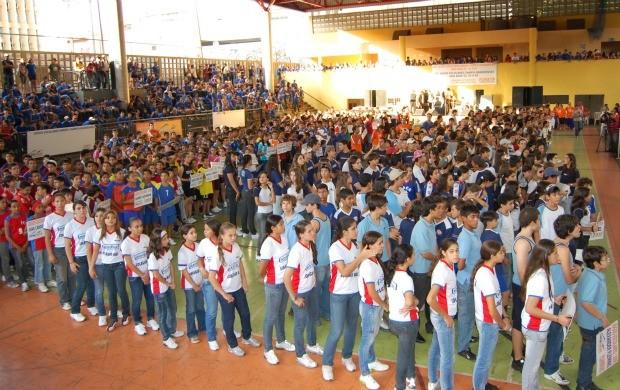 Evento deve reunir 1,7 mil competidores em Campo Grande (Foto: Divulgação/Funesp)