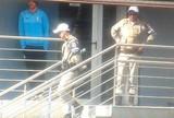 Treino do Grêmio conta com presença da polícia como precaução a protesto