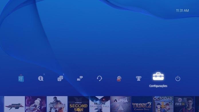 PS4: como restaurar as licenças dos seus jogos e resolver problemas (Foto: Reprodução/Murilo Molina)