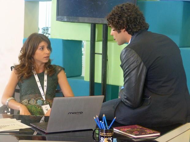 Manu assume que está sendo coagida  (Foto: Geração Brasil / TV Globo)