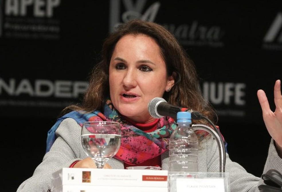 Flávia Piovesan, em imagem de arquivo, foi conselheira da Comissão Interamericana de Direitos Humanos (CIDH), da OEA (Foto: Divulgação/Polyndia Eventos)