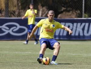 Nilton; Cruzeiro; Toca da Raposa II; treino (Foto: Washington Alves / Vipcomm)