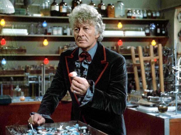 Jon Pertwee em 'Doctor Who' (Foto: Divulgação)
