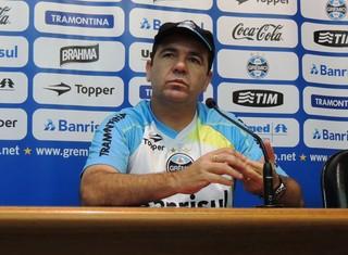 Enderson Moreira técnico Grêmio  (Foto: Paula Menezes/GloboEsporte.com)