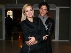 Eliana e o marido vão a show em São Paulo