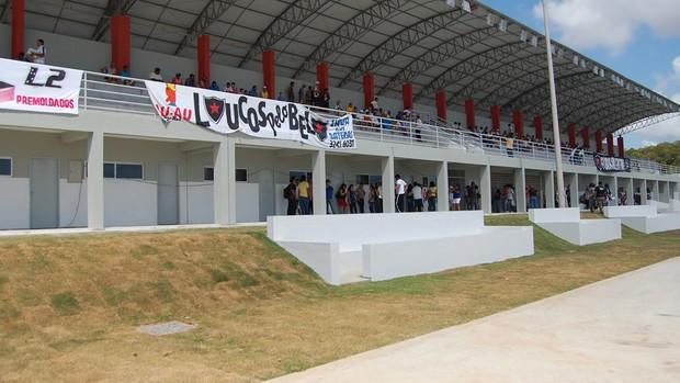 Vila Olímpica do Valentina, João Pessoa, Paraíba (Foto: Larissa Keren / Globoesporte.com/pb)