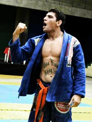 Hélder Mourão Piauiense campeão brasileiro de jiu-jitsu (Foto: Reprodução/ Facebook)