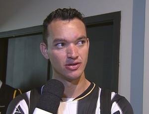 Réver, zagueiro do Atlético-MG (Foto: Reprodução SporTV)