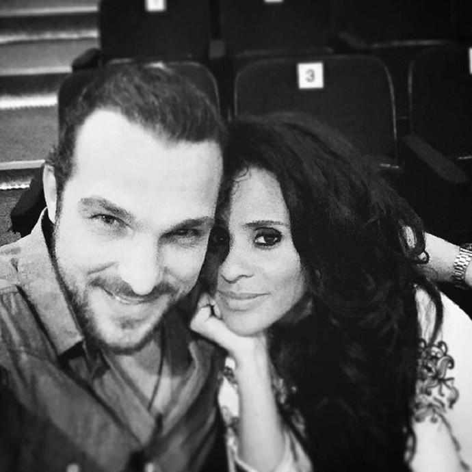Igor ao lado de Aline, com quem é casado desde maio deste ano (Foto: Reprodução/Instagram)