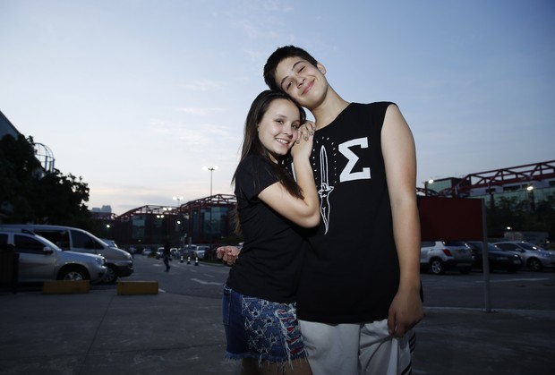 Larissa Manoela e João Guilherme (Foto: Marcos Serra Lima/EGO)