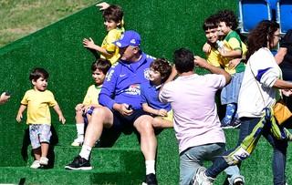 547c2af631b44 luiz felipe scolari felipão treino seleção brasileira (Foto: Jefferson  Bernardes/Vipcomm)