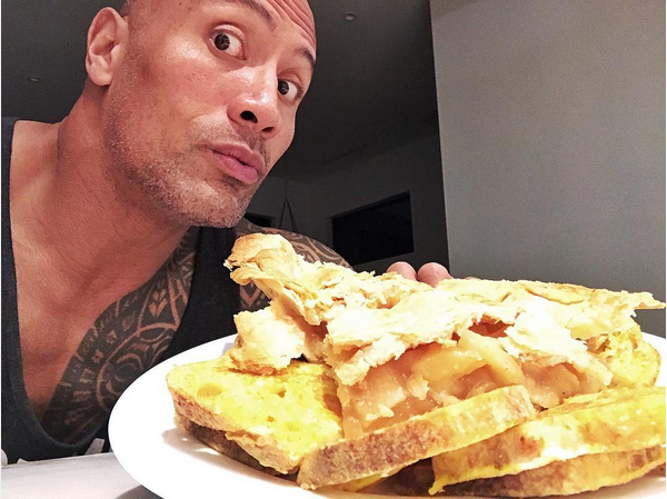 O ator Dwayne 'The Rock' Johnson (Foto: Instagram)