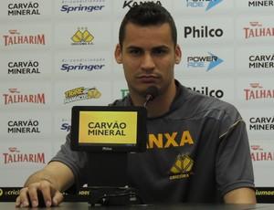 Bruno Criciúma goleiro (Foto: João Lucas Cardoso)